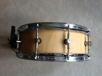 Custom built snare drum birch ply 14x5