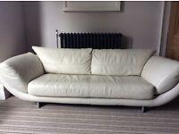 Stunning Modern Italian Leather Sofa's