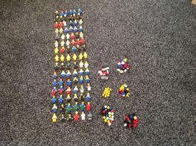 90 Lego mini figures