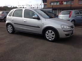 Vauxhall corsa sxi 1.2 55 plate only 58000 miles PSH one year MOT 5 door silver with alloys