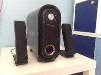 Wharfedale PC speakers & sub
