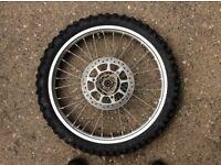 Yamaha YZ 85 Big Wheel Front wheel