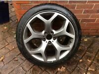 """BMW X5/X6 20"""" Alloy and good tyre"""