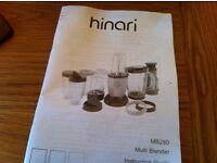 Hinari food blender