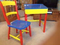 Child's Desk & Chair