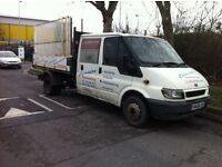 Ford Transit 2006 Crew Cab 6 Seater Tipper RUNS AND DRIVES