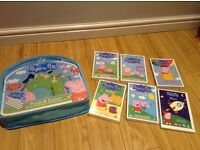 Peppa pig floor puzzle & 6 dvds