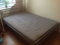 Ikea double bed Skorva