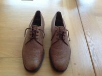 Church's men's leather shoes.