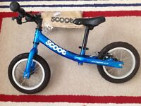 Peddle free toddler bike in immaculate condition for sale