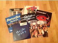 Status Quo vinyl lps x 7