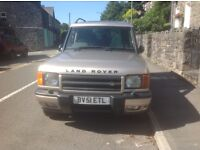 Landrover discovery 2 td5 2.5 XS manual