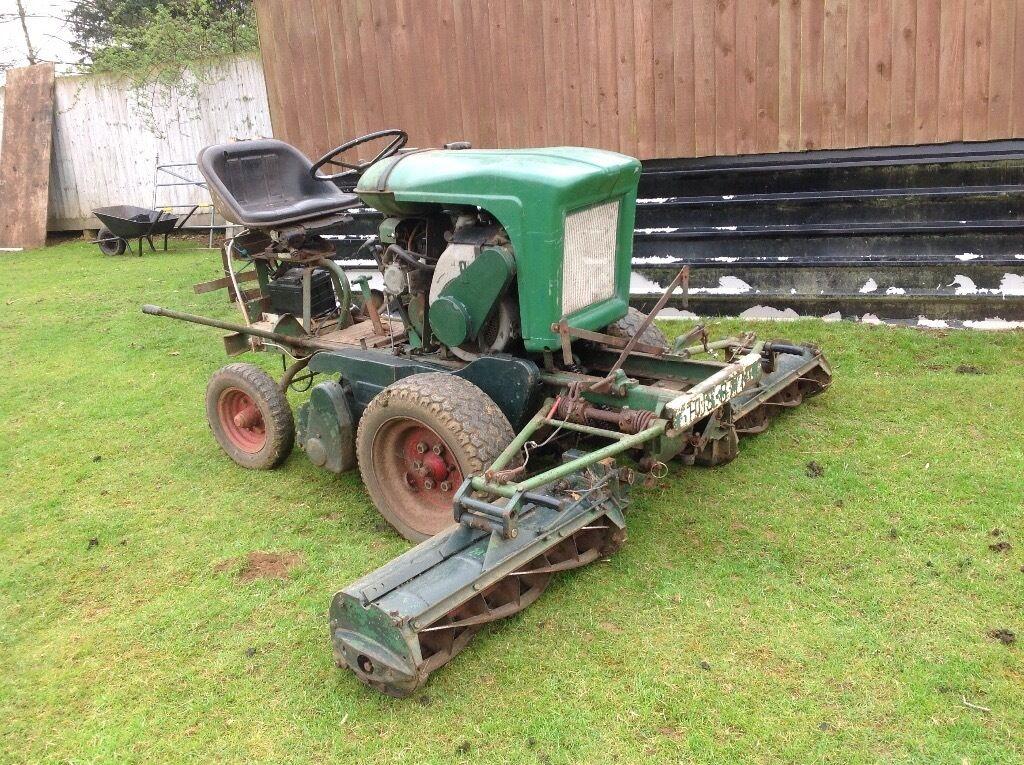 Ransom Mower Seats : Ransomes motor triple gang mower in banbury oxfordshire