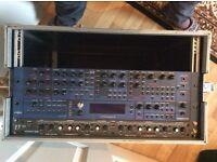 novation supernova II 2 M rack mount polyphonic synthesizer, synth , rack rack mount studio