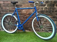 Urban FIXIE messenger bike, flip flop track wheels, VGC! SERVICED RRP £400