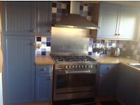 Fitted Kitchen Units - Base, Wall & Tall including Double Sink & Drainer