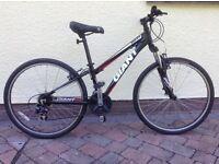 Giant Boulder Bike Size XXS 21 gears Mountain & Road tyres