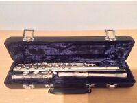Arbiter classic silver metal flute