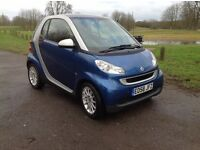 2008 blue smart car