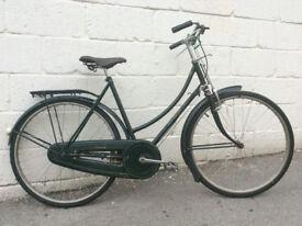1948 Vintage Raleigh Ladies Town Bike Shopper - Size Medium