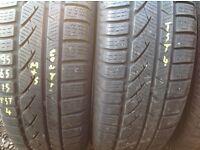 Second hand tyres 205/55/16 sets & pairs 2055516-ug unit 90 fleet road ig117bg
