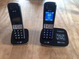 BT 8500 Twin Digital Cordless Telephone/Answering Machine