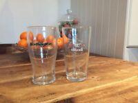 50 Pint beer glasses