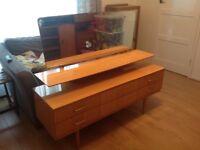 Mid century vintage retro Dressing table