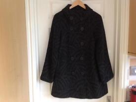 Ladies swing coat size 12