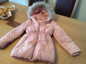 Pink Girls Jacket Age 7 - 8 Excellent Condition - £5