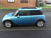 Mini Cooper s top spec pan roof xenons milltek