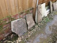 FREE Assorted Garden Stone Slabs