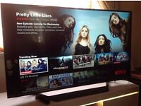 "LG 49"" SUPER Smart 4K ULTRA HD TV(49UF770),built in Wifi,Freeview HD & FREESAT HD"
