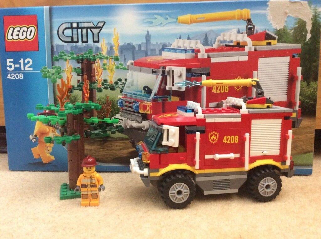Lego City 4x4 Fire Truck 4208 In Southampton Hampshire Gumtree