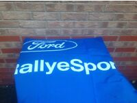 Ford rally sport flag