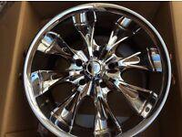 """Kia Sorento 20"""" Chrome Wheels"""