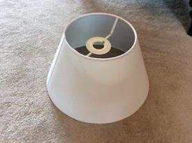 White lampshade