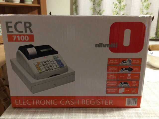 Olivetti Electronic Cash Register | in Worcester, Worcestershire | Gumtree