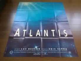 a luc besson film ' atlantis ' original cinema poster
