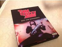 Thin Lizzy DVD box set: Live and Dangerous. Pristine condition. Collectable