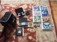 Nintendo DS Lite, great condition, 8 Games and accessories.