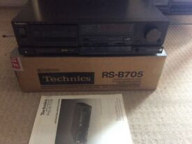 Technics 705 Tape deck . no offers