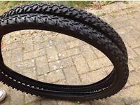 """Kenda cycle tyres 26"""" x 1.95 VGC"""