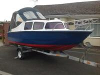 16 ft day boat with 30hp outboard