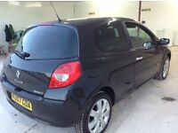 **2007 RENAULT CLIO 138 SPORT, 6 SPEED manual,HALF LEATHER interior, service history, HPI CLEAR,