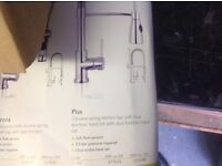 Large kitchen tap with hose NEW AND BOXED!!!!