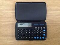 Pocket Mercury Databank/Calculator