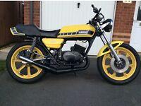 Yamaha RD250 project