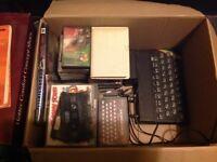 Spectrum 48k computer with games