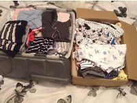 Massive job lot of baby items/clothes